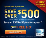 save on directtv